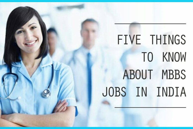 mbbs jobs in india