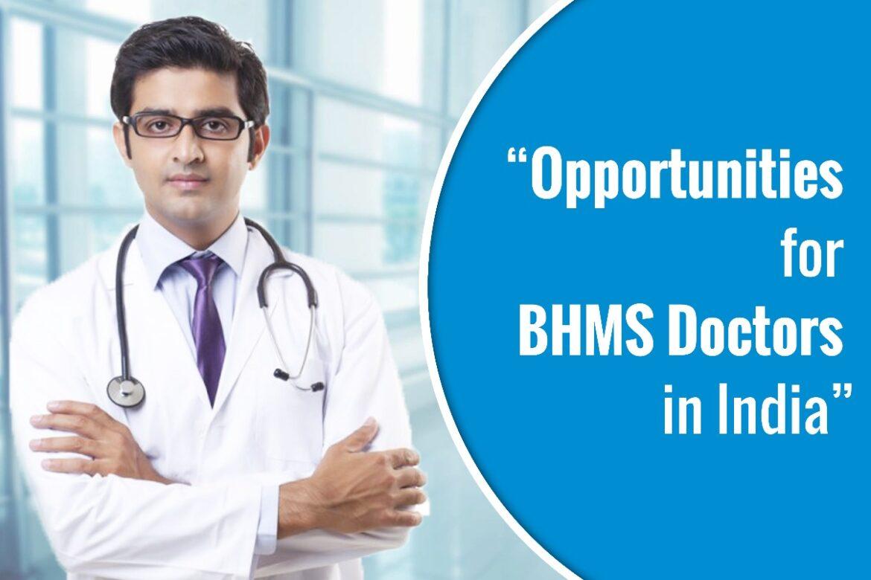 BHMS Doctors in India